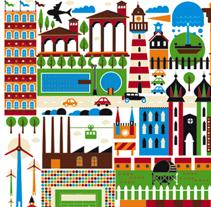 Happycity II. Un proyecto de Diseño e Ilustración de Rebombo estudio         - 26.12.2010