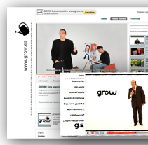 Grow - Youtube Branding Channel. A Design, Advertising, Film, Video, and TV project by Fran Fernández         - 03.01.2011