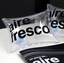 Mailing Aire Fresco. Un proyecto de Diseño de sergi nadal  - 08-01-2011