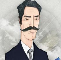 MR.ARROGANTE // IBERIA PLUS. Um projeto de Design e Ilustração de Nacho Gallego         - 13.01.2011