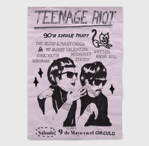 Teenage riot. A Design&Illustration project by Sara Marcos Mínguez         - 25.01.2011