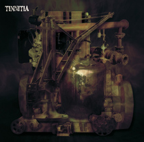 Cd EP Tinnitia. A Design, Illustration, Music, Audio, and Photograph project by Ignacio Hernández Roncal         - 01.02.2011