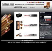 Adorini. Um projeto de Design, Publicidade, Desenvolvimento de software, UI / UX e Informática de Rafael Campoverde Durán         - 07.02.2011