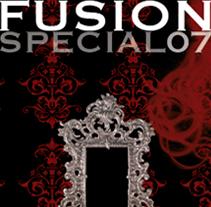 FUSION ESPECIAL 07. Un proyecto de Diseño, Publicidad y Fotografía de Maialen Olaiz         - 09.02.2011