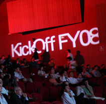 Oracle: Kick Off FY08. A Design, Advertising, Music, Audio, Motion Graphics, Installations, Film, Video, TV, and UI / UX project by Pablo Caravaca - 09-02-2011