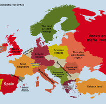 Europe acording to Spain. A Design&Illustration project by Isabel Martín - Mar 04 2011 08:11 PM