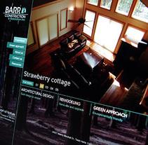 Barr Construction - Branding & Web Design. Un proyecto de Diseño, Desarrollo de software y UI / UX de Francisco Aveledo         - 04.03.2011