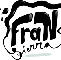 LOGOTIPO FRAN SIERRA. Un proyecto de Diseño e Ilustración de Daniel Sierra Sanchez         - 12.03.2011
