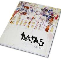 Catálogo exposición homenaje. Un proyecto de Diseño de Marta Sisón Barrero - 13-03-2011