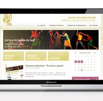 Nou Espiral / Escola de Dansa. Un proyecto de Diseño, Publicidad y UI / UX de laKarulina  - 21-03-2011