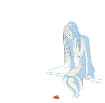 Ella lo espera todo. Un proyecto de Ilustración de Aurora Cascudo Román - 27-03-2011