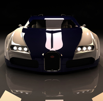 Bugatti Veyron. A Design, Illustration, Advertising, and 3D project by Hector Serrano         - 28.03.2011