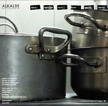 Web Restaurante Alkalde. Un proyecto de Diseño de Susana Aguilera Sancho - 28-03-2011