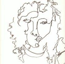 contorno ciego. Um projeto de Ilustração de raquel arriola caamaño         - 27.03.2011