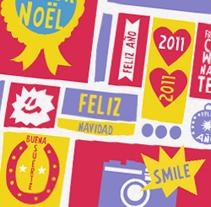 Felicitación Navidad. Un proyecto de Diseño e Ilustración de Se ha ido ya mamá  - Miércoles, 30 de marzo de 2011 13:05:20 +0200