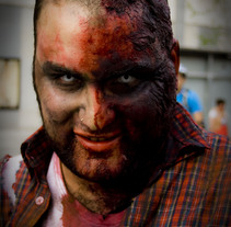 Marcha Zombie Madrid. A Photograph project by Esther Garcia Delgado         - 11.04.2011
