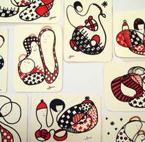 Garabatos de Navidad. A Illustration project by Asun Robles         - 14.04.2011