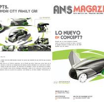 ANS Magazine. Un proyecto de Diseño y Publicidad de Alfredo Lopez Martinez         - 19.04.2011