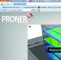 Web Proner Energia Sustentable. Um projeto de  de Ignacio Miranda         - 24.05.2011