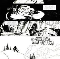 La Guerra de los Totem - extraído de los Archivos de URO. Un proyecto de Ilustración de Lopekan :: - 27-05-2011