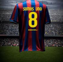 Nike Somos Uno. Um projeto de Design, Publicidade e 3D de Fernando Alcazar         - 29.05.2011
