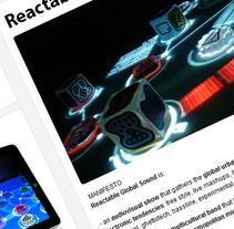 Reactable Global Sound. Un proyecto de Desarrollo de software de Germán de Souza  - Domingo, 29 de mayo de 2011 22:05:24 +0200