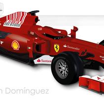 Ferrari. Um projeto de Design, Ilustração, Publicidade, Fotografia e 3D de Judith Estefanía Terrón domínguez         - 25.06.2011