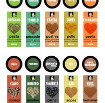 Diseño de packaging Carmencita Especias. Um projeto de Design, Ilustração e Publicidade de Álvaro Millán Sánchez         - 29.06.2011