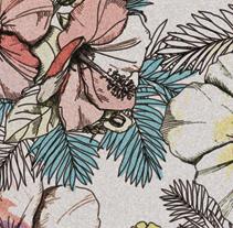 Patterns: Calma tropical. Un proyecto de Diseño e Ilustración de Patricia Lázaro - Lunes, 11 de julio de 2011 18:33:29 +0200