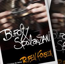 Cover Book. Um projeto de Design de Ronaldo da Cruz         - 06.07.2011