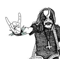 Black Metal. A Design&Illustration project by Ruth y Sira García Trigueros - 11-07-2011