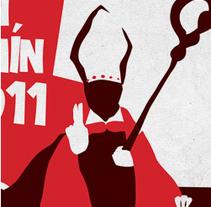 San Fermín 2011. Un proyecto de Diseño, Ilustración y Publicidad de Miguel de Llobet         - 18.07.2011