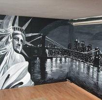 mural ny. A Design, Illustration&Installations project by enrique granados de foronda         - 21.07.2011