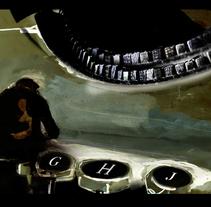 Bukowski / Sawyer. Un proyecto de Ilustración de Helena Basagañas         - 26.07.2011