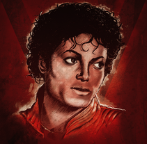 Michael Jackson Tribute. A Illustration project by Xavier Gironès - Aug 01 2011 10:15 AM