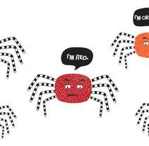Decoración Halloween . A Design&Illustration project by Taína Almodóvar         - 26.09.2011