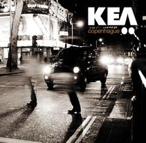Diseño de Cd para el grupo Kea . Um projeto de Design de Raul Piñeiro Alvarez         - 27.09.2011