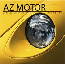 Revista AZ Motor. A  project by Pokemino         - 04.10.2011