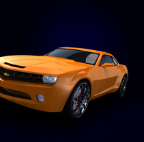Camaro. A Film, Video, TV, and 3D project by Ruben  Muñoz Hernandez - 24-10-2011