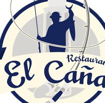 Identidad corporativa Restaurante El Caña. A  project by dramaplastika - 26-10-2011