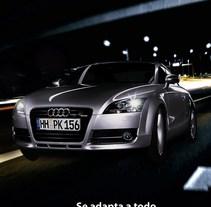 Campaña publicitaria para Audi TT. A Design, and Advertising project by Claudia Tripputi - 01-11-2011