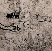 Figuración Gris-II. Um projeto de Ilustração de Natxo  Ramirez Garcia - 08-11-2011