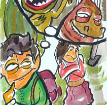 ilustraciones libro. A Illustration project by ximo cerdá peréz - 08-11-2011