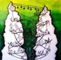 Ilustración | Livro Ciudades Invisibles - Italo Calvino . A Illustration project by Natacha  Côrte-Real Duarte Pessanha         - 10.11.2011