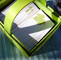 ID Cards y Etiquetas | Reciclagem com Design. A Design, Illustration, Advertising, Installations, Photograph&IT project by Natacha  Côrte-Real Duarte Pessanha         - 10.11.2011