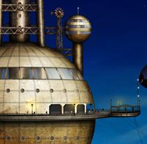 Sky Port. Um projeto de Ilustração de Ana         - 25.11.2011
