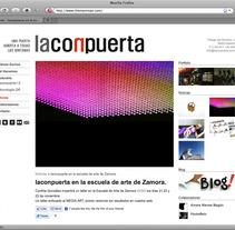 web Laconpuerta. Um projeto de Design e Desenvolvimento de software de María José Arce         - 03.12.2011