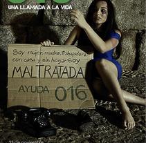 día internacional violencia contra las mujeres. Un proyecto de Diseño, Ilustración, Publicidad, Fotografía, Cine, vídeo y televisión de Juan Javier  García Pérez         - 04.12.2011