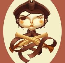 Pirata Amoelbarroco. Um projeto de Design e Ilustração de Laura Wächter - 06-12-2011