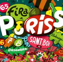 Cartel Puríssima. Un proyecto de Ilustración de Iván Bravo - 10-12-2011